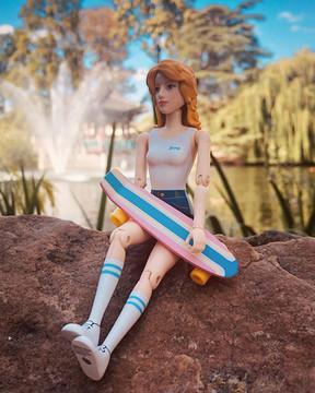 ✨Zoe loves hiking , Zoe loves to swimm i