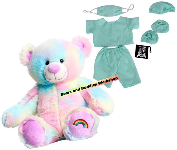 "16"" Bear and Scrubs sets"