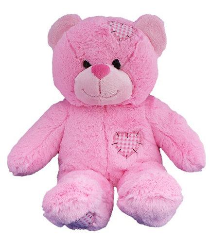 Pink Patch Bear
