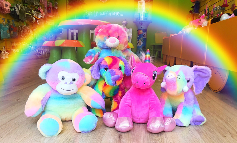 Our 'Rainbow Range'
