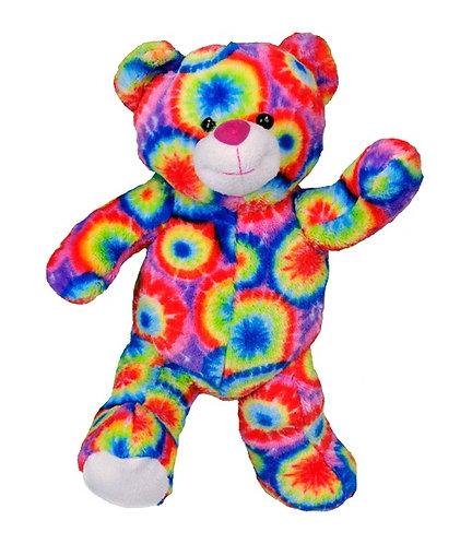 Tie-Dye Rainbow Bear