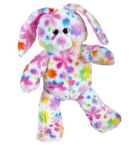 Rainbow Flower Bunny