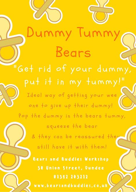 Dummy Tummy Bear