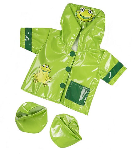 Frog Raincoat & Boots