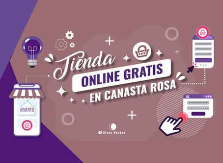 Tienda online gratis en Canasta Rosa