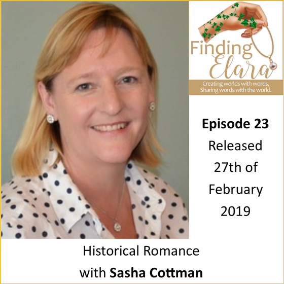 Historical Romance with Sasha Cottman - Finding Elara Summary