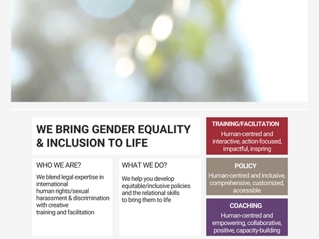 Bring Gender Equality & Inclusion to Life