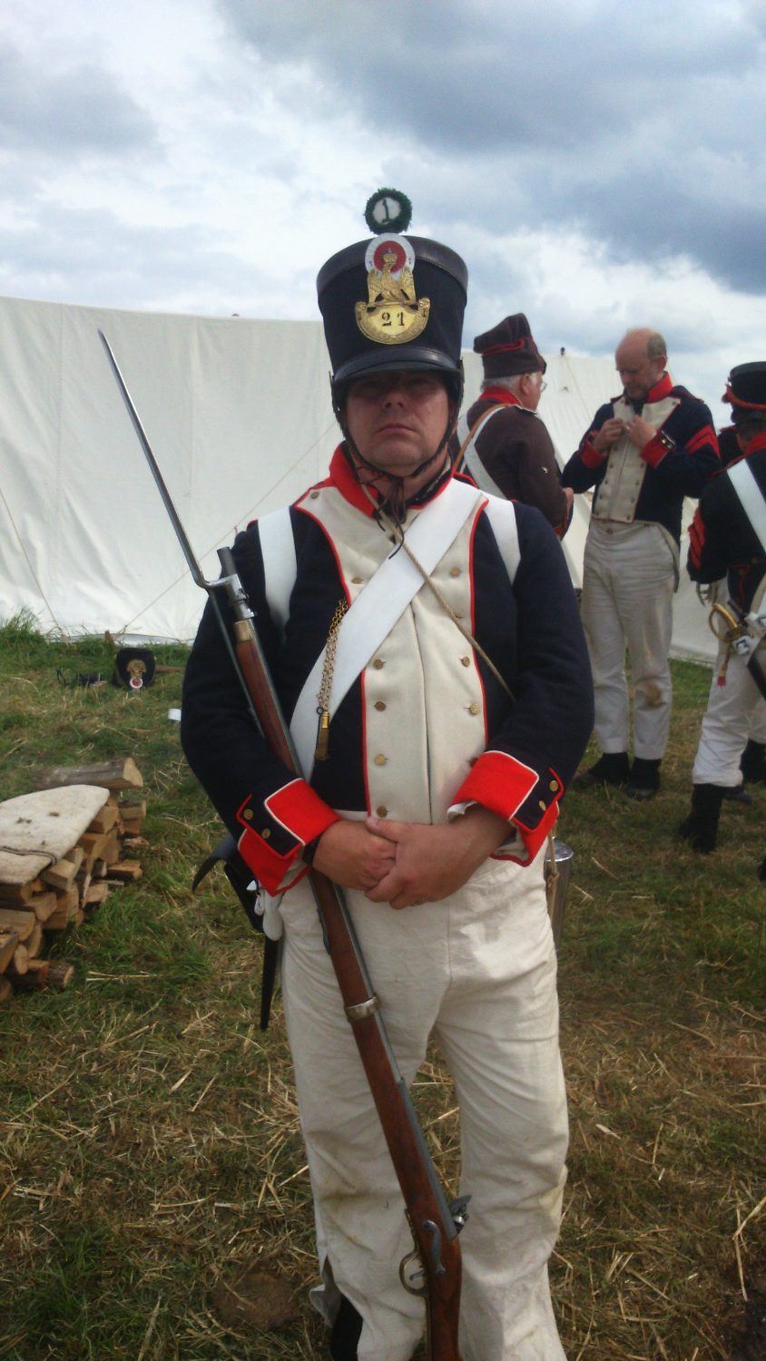 French Napoleonic soldier