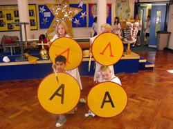 Greek children's shields_