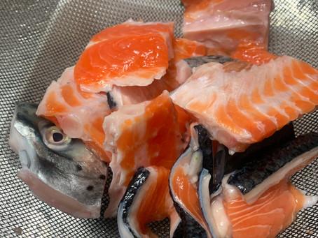 魚のおかず『鮭じゃが』