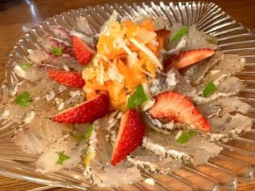 【レシピ】真鯛のカルパッチョ風サラダ