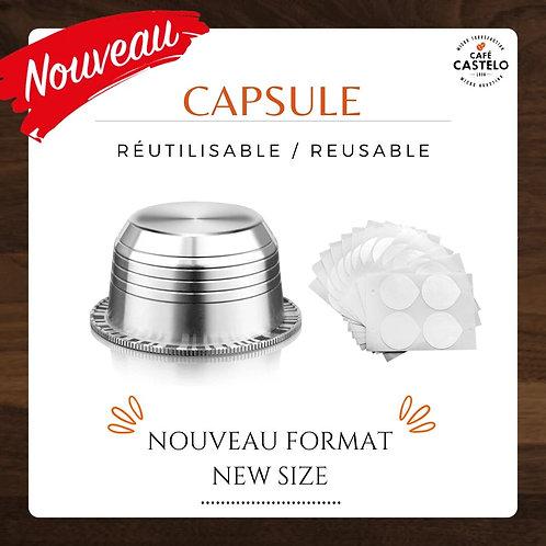 Capsule réutilisable GRAND format - Vertuoline Nespresso®