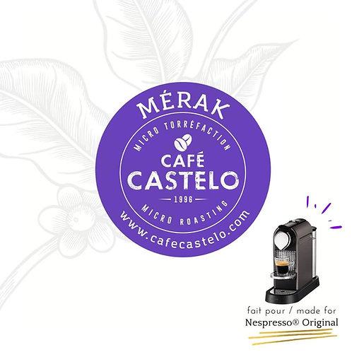 MÉRAK - CApsules compatibles avec Nespresso® Original
