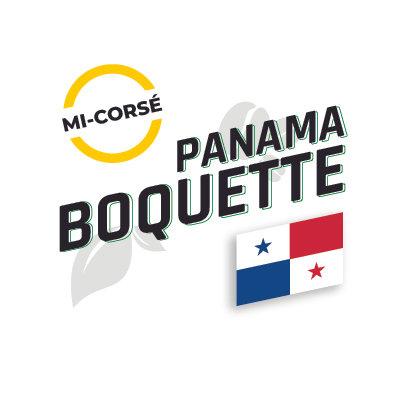 PANAMA BOQUETTE Torréfaction Brune Foncée