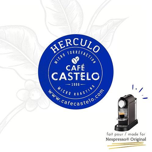 HERCULO - Capsules compatibles avec Nespresso® Originaline