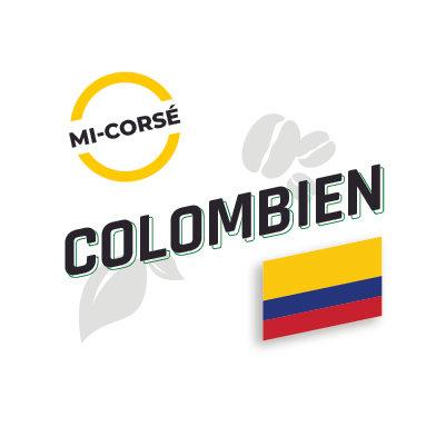 COLOMBIEN, Décaféiné, Torréfaction Mi-Noire