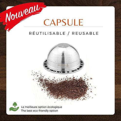 Capsule réutilisable pour Vertuoline Nespresso®