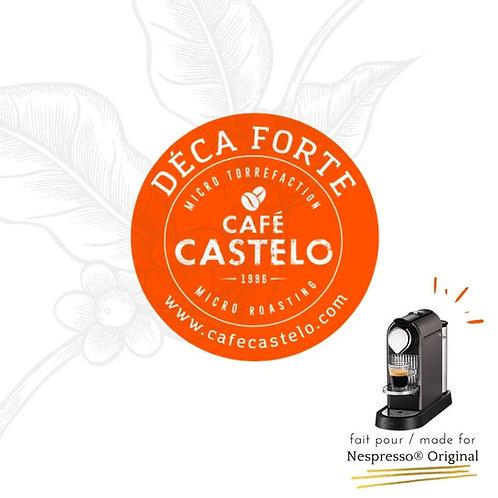DECA FORTE - Capsules compatibles avec Nespresso® Original
