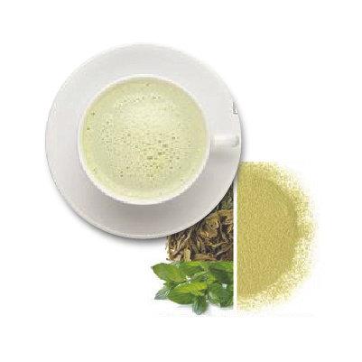 Thé vert  matcha à la menthe poivrée