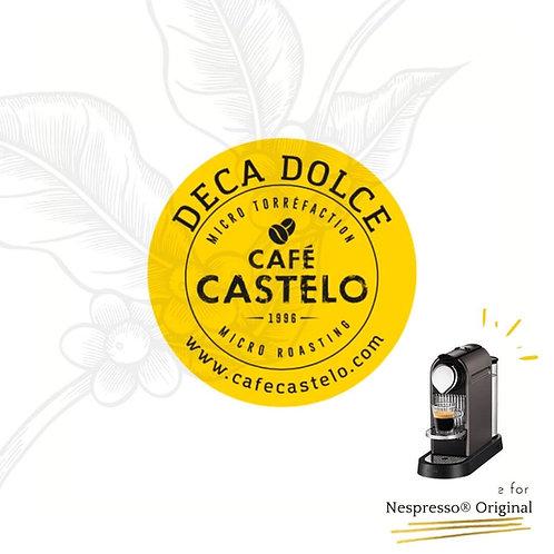 DECA DOLCE - Capsules compatibles avec Nespresso® Original