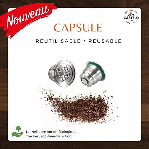 Capsule réutilisable pour Original Nespresso®