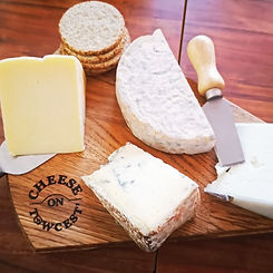Artisan Cheese Platter from Cheese on Towcest' Monthly subscription service
