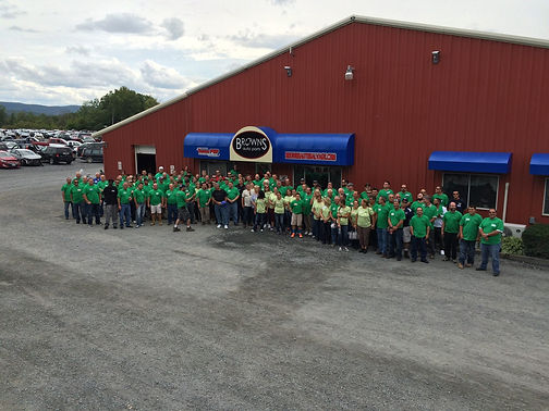 Browns Auto Salvage Hosting Group picutr