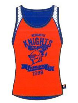 Newcastle Knights Performance Singlet 9K4SG1A