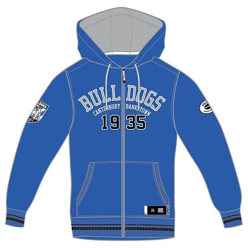 Bulldogs Zip-up Hoodie