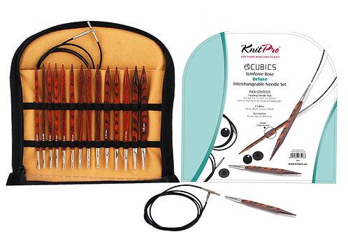 Cubix knitting needles - interchangeable set - for arthritis or the avoidance of