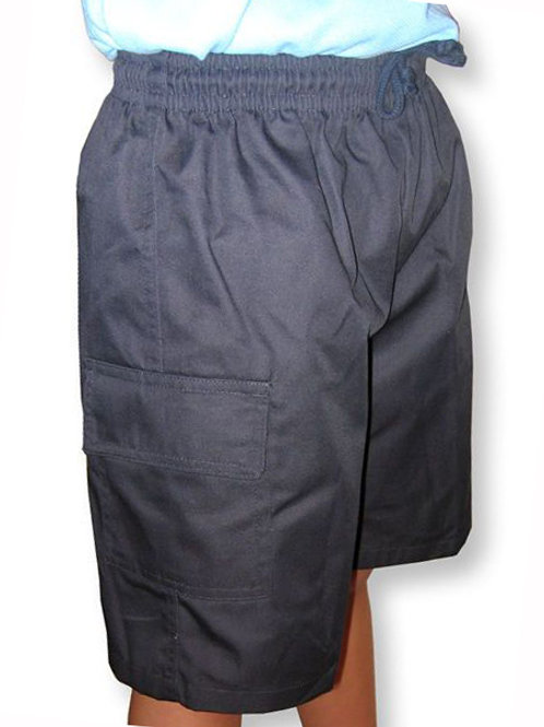 Polycotton Cargo Shorts - 5KCS-kids