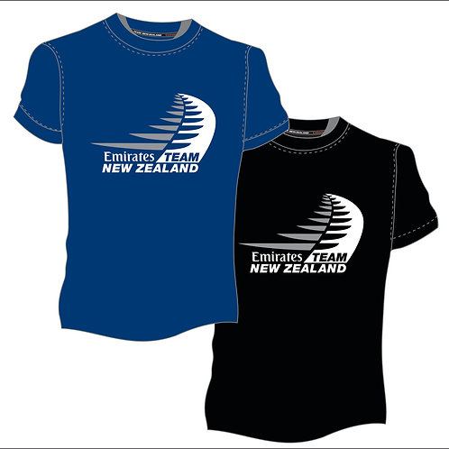 T54002  Emirates Team NZ logo tee