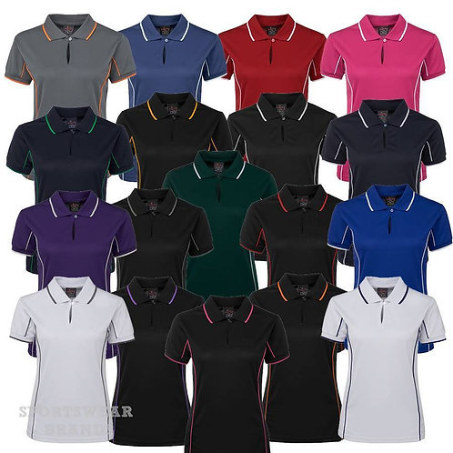 Ladies Piping Polo 7LPI