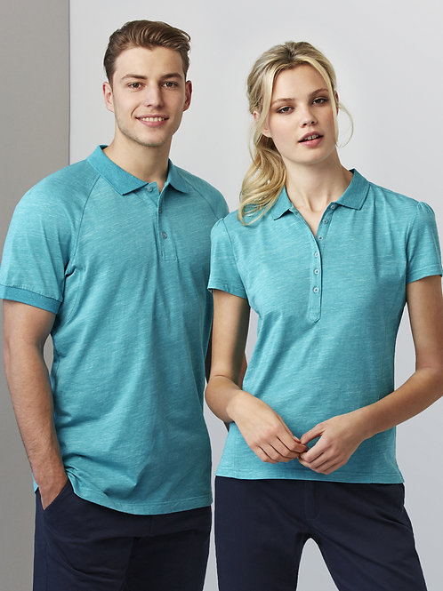 Womens Coast New 100% Cotton Comfortt Polo P608LS