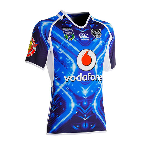 Warriors NRL Auckland Nines 2014 Jersey
