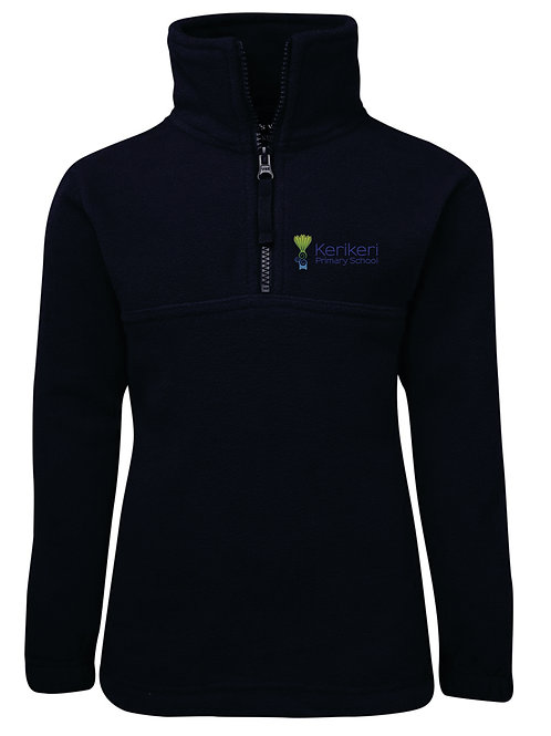 KP 3KP Kids 1/2 Zip Polar Fleece Pullover logo