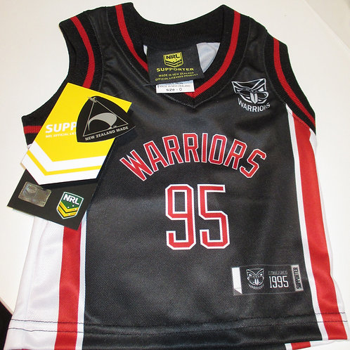 Baby warriors singlet