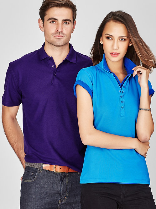 Crew Polo Classic Pique Knit Polycotton Polo
