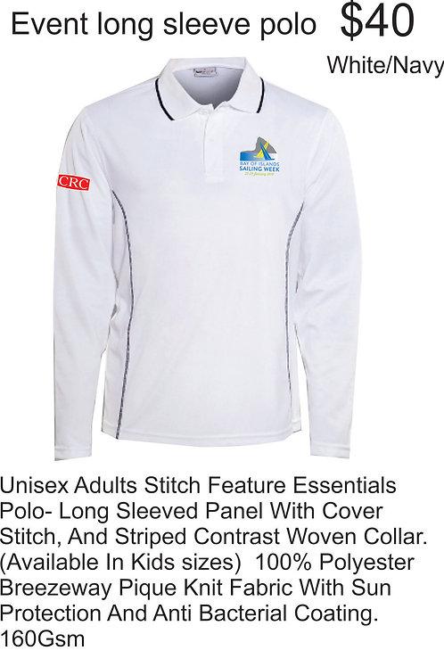 Event long sleeve polo unisex 2019