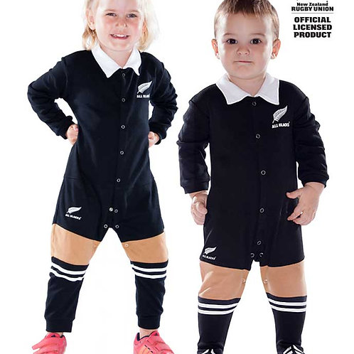New Zeland All Blacks onesie - infants