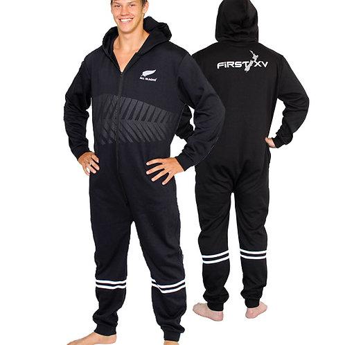 New Zeland All Blacks onesie