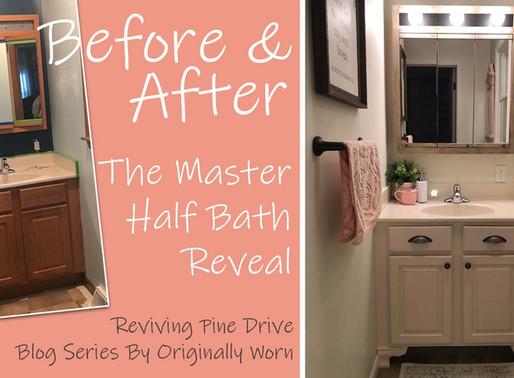 The Master Half Bath Reveal
