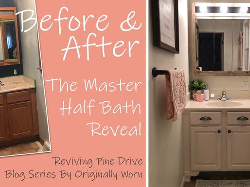 The Master Half Bath Reveal