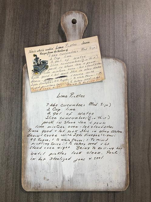 Engraved Farmhouse Decorative Board
