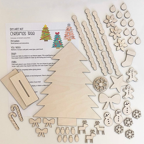 DIY Pre-Cut Kit: Tree Decorating