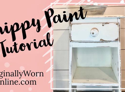 Chippy Paint Tutorial: Miss Mustard Seed Milk Paint