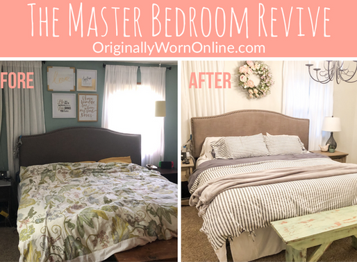 The Master Bedroom Reveal