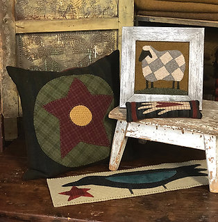 #221 Folk Art Sampler