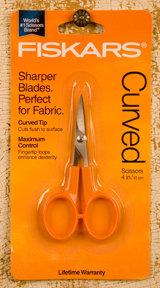 """4"""" Fiskars Curved Scissors"""