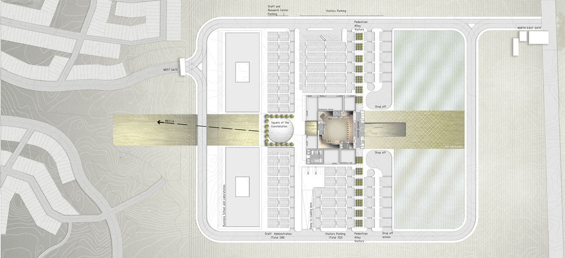 SITE PLAN 001 (PLACE OF THE INTELLECT) (